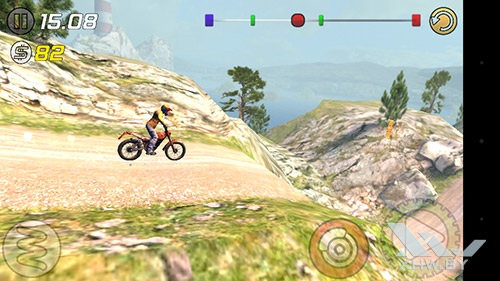 Игра Trial Xtreme 3 на Senseit R450
