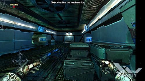 Игра Dead Effect на Senseit E510