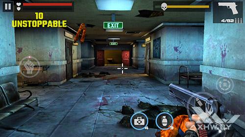 Игра Dead Target на Senseit E510