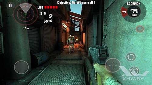 Игра Dead Trigger на Senseit E510