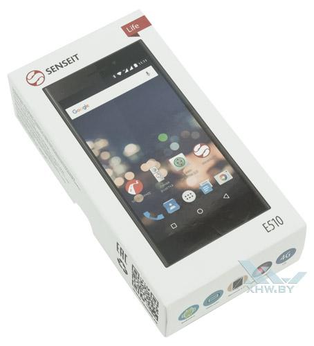 Коробка Senseit E510