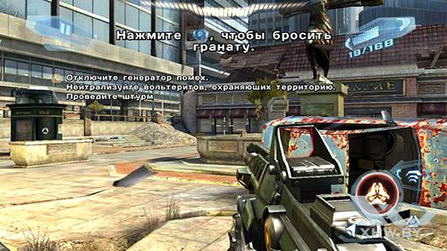Игра N.O.V.A. 3 на Senseit E510
