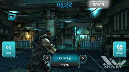 Игра Shadowgun: Dead Zone на Senseit E510