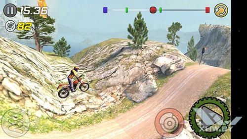 Игра Trial Xtreme 3 на Senseit E510