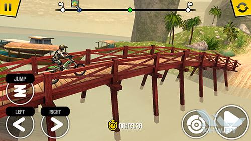 Игра Trial Xtreme 4 на Senseit E510