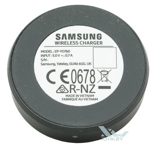Нижняя часть зарядки Samsung Gear S3