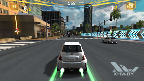 Игра Asphalt 7 на Samsung Galaxy J5 Prime