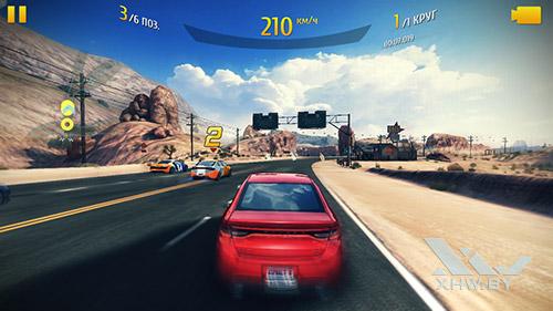 Игра Asphalt 8 на Samsung Galaxy J5 Prime