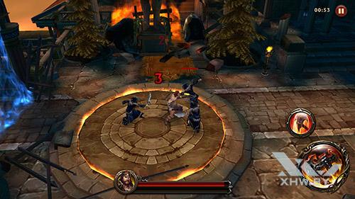 Игра Eternity Warriors 4 на Samsung Galaxy J5 Prime
