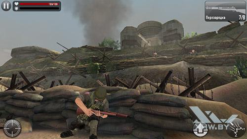 Игра Frontline Commando: Normandy на Samsung Galaxy J5 Prime
