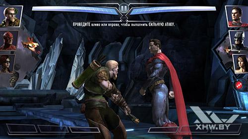 Игра Injustice: Gods Among Us на Samsung Galaxy J5 Prime