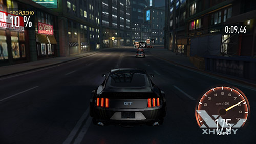 Игра Need For Speed: Most Wanted на Samsung Galaxy J5 Prime