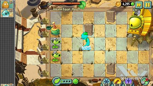Игра Plants vs Zombies 2 на Samsung Galaxy J5 Prime
