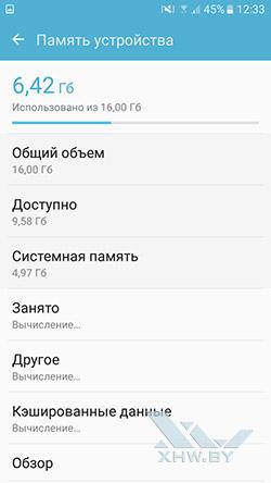 Память Samsung Galaxy J5 Prime