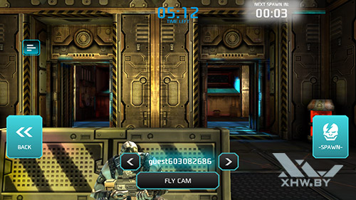 Игра Shadowgun: Dead Zone на Samsung Galaxy J5 Prime