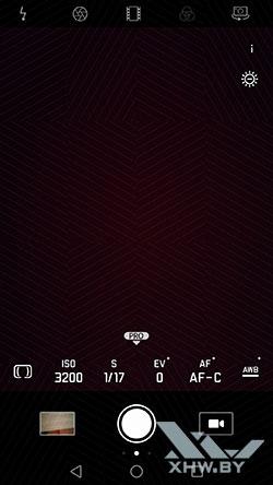 Интерфейс основной камеры Huawei Mate 9. Рис2