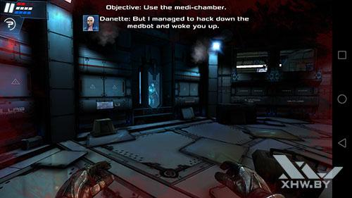 Игра Dead Effect 2 на Huawei Mate 9