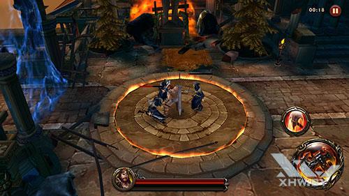 Игра Eternity Warriors 4 на Huawei Mate 9