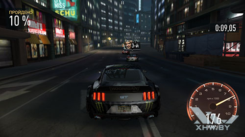 Игра Need For Speed: No Limits на Huawei Mate 9