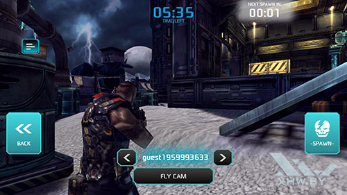 Игра Shadowgun: Dead Zone на Huawei Mate 9