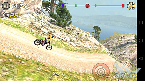 Игра Trial Xtreme 3 на Huawei Mate 9