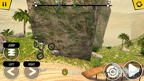 Игра Trial Xtreme 4 на Huawei Mate 9