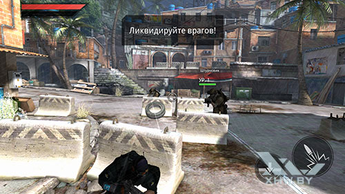 Игра Frontline Commando 2 на Huawei P8 Lite (2017)