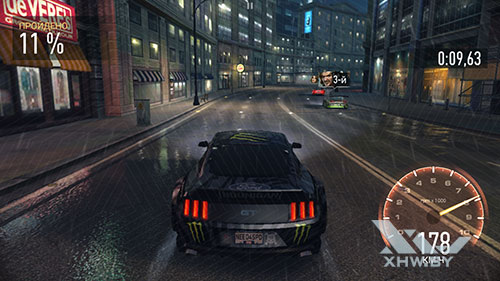 Игра Need For Speed: No Limits на Huawei P8 Lite (2017)