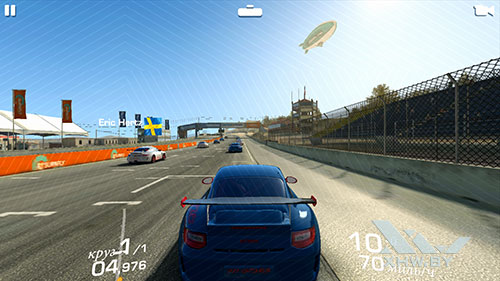 Игра Real Racing 3 на Huawei P8 Lite (2017)