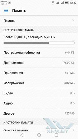Память Huawei P8 Lite (2017)
