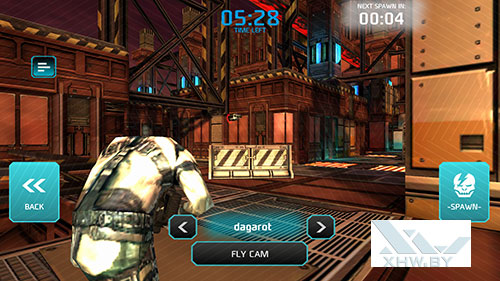 Игра Shadowgun: Dead Zone на Huawei P8 Lite (2017)