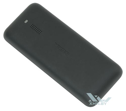 Nokia 130 Dual SIM тыльная крышка плавно переходит в боковины