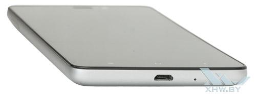 Нижний торец Xiaomi Redmi 3S