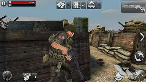 Игра Frontline Commando: Normandy на Xiaomi Redmi 3S
