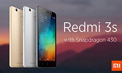 Смартфон с мощным аккумулятором и двумя SIM - Xiaomi Redmi 3S