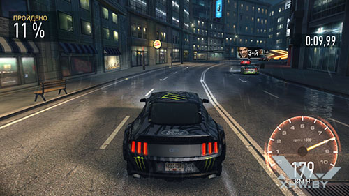 Игра Need For Speed: Most Wanted на Xiaomi Redmi 3S