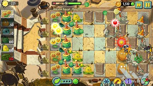 Игра Plants vs Zombies 2 на Xiaomi Redmi 3S