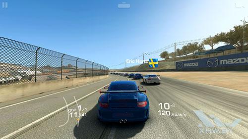 Игра Real Racing 3 на Xiaomi Redmi 3S