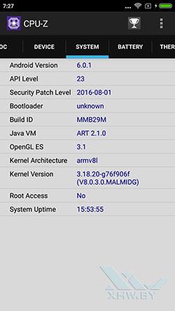 О системе Xiaomi Redmi 3S