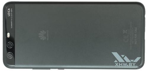Huawei P10. Вид сзади