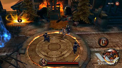 Игра Eternity Warriors 4 на Huawei P10