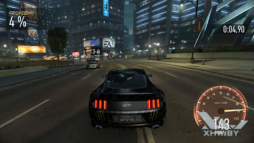 Игра Need For Speed: No Limits на Huawei P10