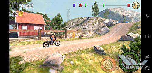 Игра Trial Xtreme 3 на Samsung Galaxy S8
