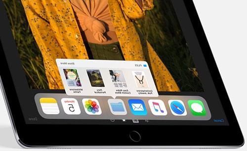 Панель приложений Dock в iOS 11