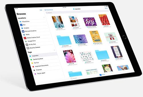 Все файлы в iOS 11 будут доступны в одном месте, независимо от их реального местоположения
