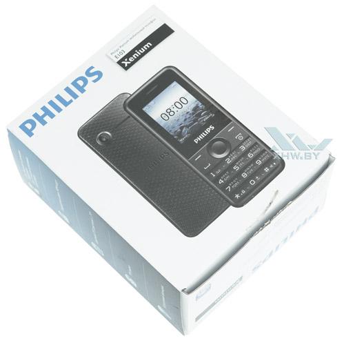 Коробка телефона Philips Xenium E103