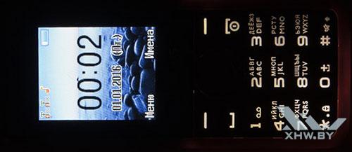 Подсветка клавиатуры Philips Xenium E103