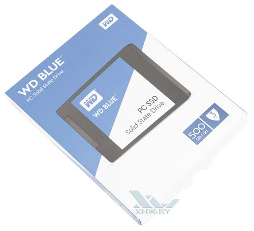 Коробка WD Blue SSD 500 Гбайт