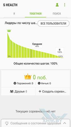 S Health на Samsung Galaxy J5 (2017). Рис 2