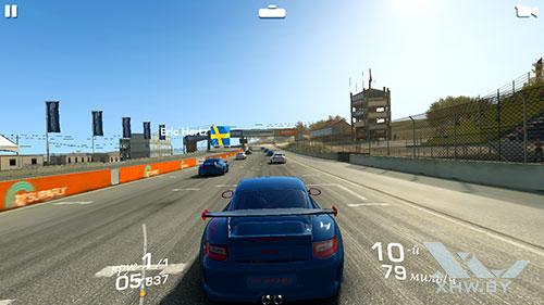 Игра Real Racing 3 на Samsung Galaxy J5 (2017)